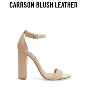 Steve Madden Carrson Blush Leather Size 6.5